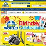Dyson DC29 $439 (Factory 2nd), Whirlpool 340L Top Mount Fridge $527 +More - 2nds World Catalogue