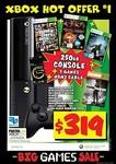 Xbox 360 250GB Bundle (GTA V, Mortal Kombat Komplete, Halo 4, Tomb Raid, HDMI) $319 @ JB Hi-Fi