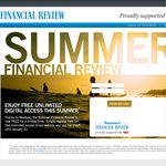Free Access to The Australian Financial Review for Summer