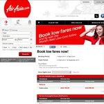 Kuala Lumpur Return ex Melb $344, Syd $340, Adel $359, Perth $320, GC $353 w/ AirAsia