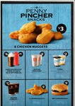 Hungry Jacks Penny Pincher Snacks