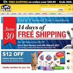 Free Shipping on Orders over $49.99 - My Pet Warehouse - Ends June 30th