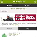 Kathmandu Winter Sale up to 60% off Online