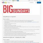50% off BBQs in BBQ Category on eBay (Sunday - 31/8)