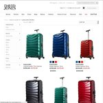 40% off Samsonite Firelite Spinner 81cm $509, 75cm $479 & 55cm $329 Free Delivery - David Jones