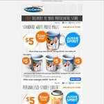 Harvey Norman 5 DAY SALE - $5 Personalised Coffee Mugs & Stubby Coolers