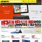 15% off Computers and Cameras at JB Hi-Fi