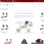 Pack of 5 No Show Socks for $9.99 + Free Shipping @ Heavy Taste