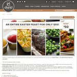 Dish'd Easter Feast $50 + $8 Shipping