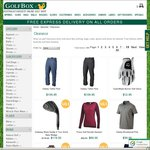 Golfbox May Clearance up to 50% off + Free Delivery Australia Wide