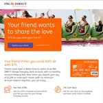 ING Direct - $75 Referral Bonus for New Customers