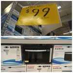 Sharp Microwave w/ Grill R67B1S $99 (RRP $269) @Masters