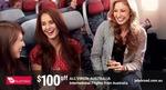 $100 off All Virgin Australia International Flights from Australia