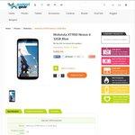 Google Nexus 6 [32GB/3GB-RAM/4G-LTE] White or Blue $491.00 Delivered @ GadgetGear