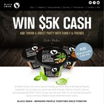 Win $5000 Cash, or 1 of 50x Dip Packs Worth $60 from Black Swan Dips
