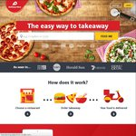 Delivery Hero up to 50% off Participating Restaurants Noon-10pm [Melbourne Cup Special] (VIC/NSW/QLD/ACT)