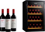 28 Bottles of Penfolds Wines & Vintec 30 Bottle Wine Fridge - $888 Delivered from Dan Murphy's
