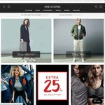 THE ICONIC Extra 25% off Sale Items
