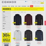 Restocked $19.99 Hoodies at Connor, Save $50 Was $69.99 (Pickup in Store for Free as Well)