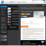 AmEx Platinum Edge - $195 Annual Fee: Bonus 10,000 Points & Free Flight