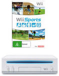 Wii Console (Refurbished) + Wii Sports (Preowned) - $28 @ EB Games