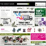 Free Delivery On All Orders Until Midnight 9th December @ The Body Shop Online