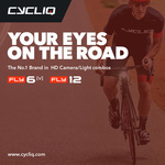 Free Cycling Apparel (Jersey/Bibs) w/ Fly6 Bike Camera/Tail Light ($199) and/or a Fly12 Bike Camera/Front Light ($499) @ Cycliq