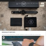 40% off Slim Wallets (from $21) and Minimalist Watches (from $54) + Free Shipping (Boxing Day Sale) @ Palmera Apparel