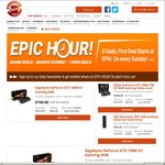 $699 EVGA GTX 1080 FTW DT/ $749 Gigabyte GTX 1080 G1/ $95 WD Elements 3TB USB Desktop Drive + Shipping @ ShoppingExpress