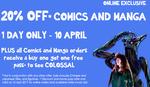Kinokuniya Online 20% off Comics and Manga (Including Figures)