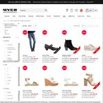 Further 50% off Already Reduced Women's, Men's & Miss Shop Clothing + Women's & Men's Shoes @ Myer