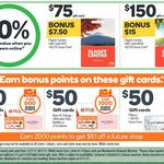 1000 Bonus Points (Worth $5) with $50 Ultimate Kids or Netflix Gift Cards @ Woolworths (Also 10% Bonus Flight Centre Cards)