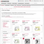 Kenwood Official Website - Savings up to 68%, Free Delivery, Stand Mixers, Blenders, Nutrition Extractors and More