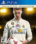 [PS4] FIFA 18 Ronaldo Edition - $79.99 US (~$100 AU) (Digital Code) @ Amazon