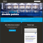 Earn Double Points on Hilton Honors Bookings