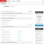 """Lenovo ThinkPad E575 15"""" FHD, AMD A10-9600P, 16GB RAM, AMD Radeon R5 M430 2GB, 256GB SSD, DVD $899"""