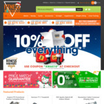 10% off Sitewide on Fitness Warehouse: Excluding Christmas Catalogue. Online Only