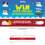 "Win a 55"" Kogan TV & Retro Gamer Set Worth $817 or 1 of 20 Pairs of Volley Shoes from Brand Collective Pty Ltd"