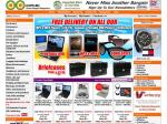Free Delivery on Portable DVD Players, MP3/MP4 Players, LCD TVs, Sunglasses and Briefcases @ OO