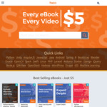 All Packt Publishing eBooks and Videos US$5 (~$6.5) Each