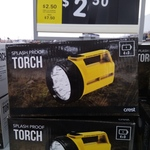 Crest Splash Proof Torch 6V @ $2.50 (down from $10) @ Big W [Clearance]