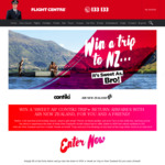 Win a Trip to New Zealand for Two from Flight Centre