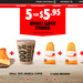 5 for $5.95 Brekky Super Stunner (Available before 11am) @ Hungry Jack's