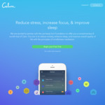 FREE 8 Months of Calm App - Meditate, Sleep, Relax @ Calm (New & Existing Users)