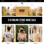Streetwear Clothing & Other Items $10 (80%+ off Retail Price) Free Shipping for Orders over $80 @ Wall Street Store
