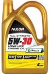 Nulon Full Synthetic Long Life Engine Oil - 5W-30, 6 Litre, Now $29.99, Save $35 @ Supercheap Auto
