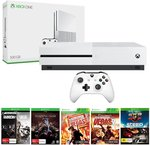Xbox One S 500GB Console with 6 Games $298 C&C (or + Shipping) @ The Gamesmen / eBay