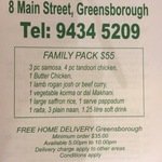 [VIC] Family Pack for $55 Pickup or Delivered from Mehek Greensborough (Was $75.50, Save $20.50)