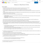 10x Flybuys Points in One Transaction @ eBay