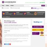Booking.com 8% Cashback (Was 4%) @ Cashrewards
